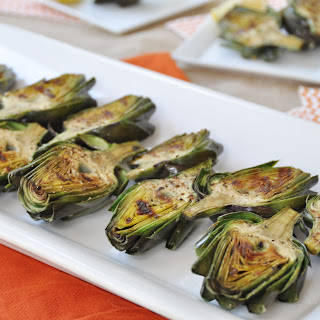 Grilled Baby Artichokes.
