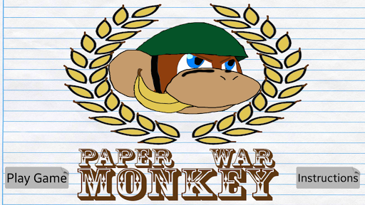 Paper War Monkey