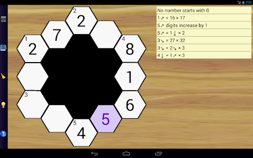Math Hexagon Puzzles- screenshot thumbnail