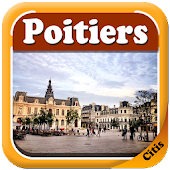 Poitiers Offline Map Guide