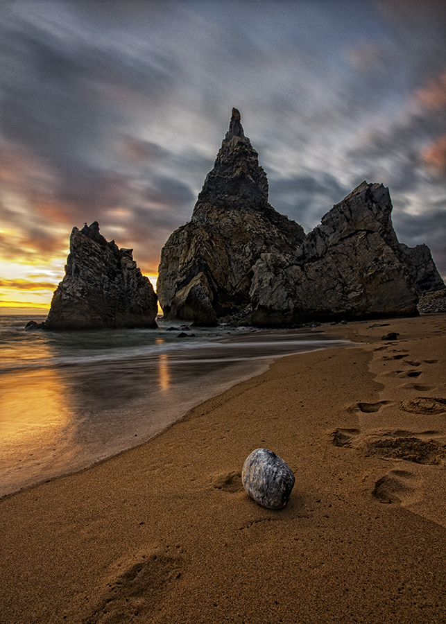 by Nigel Smith - Landscapes Sunsets & Sunrises ( canon, praia, waterscape, sunset, nigel smith, 10mm )