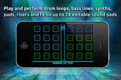 【免費音樂App】Bass Drop - Dubstep 音樂 工作室-APP點子