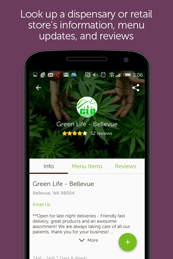 Leafly Marijuana Reviews - screenshot