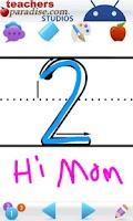 Screenshot of 123s ABCs Handwriting Fun ZBP