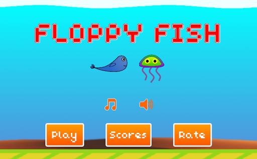 【免費街機App】Floppy Fish-APP點子