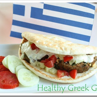 Healthy Greek Gyros.