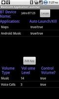 Screenshot of Bluetooth App. Launcher (Free)