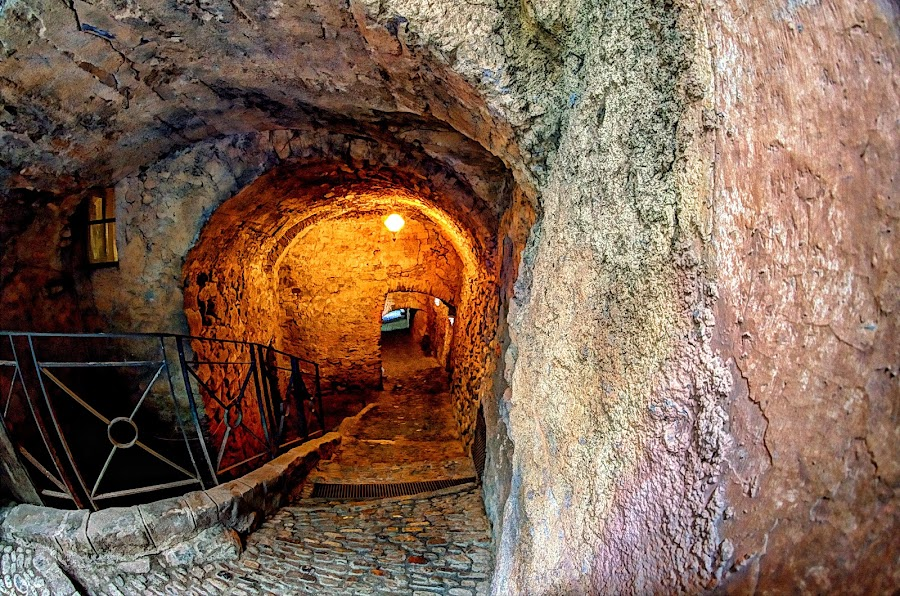 The Scasasse, the old prisons. by Roberta Sala - City,  Street & Park  Street Scenes ( dolceacqua, hdr, streets, street scene, italy, street photography )