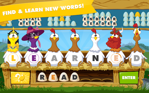 Chicktionary - Scrambled Words- screenshot thumbnail
