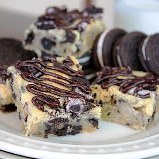 Peppermint Oreo Sugar Cookie Bars