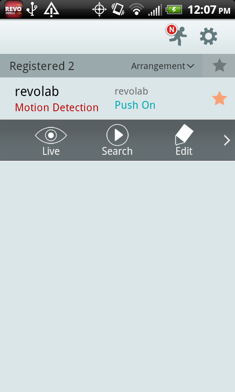 REVO Mobile- screenshot