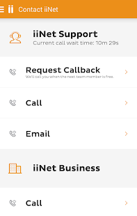 iiNet Support- screenshot thumbnail