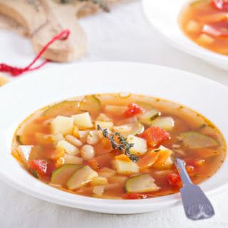 Vegan Veggie Soup.