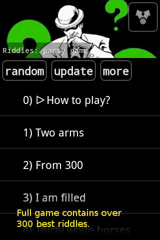 Riddles: party game lite