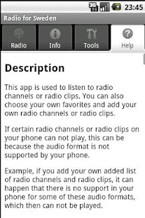 Radio for Sweden (free app)- screenshot thumbnail