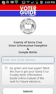 Santa Cruz County Voter Guide screenshot 0