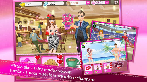 Star Girl: Cu0153urs de Valentins  captures d'u00e9cran 15