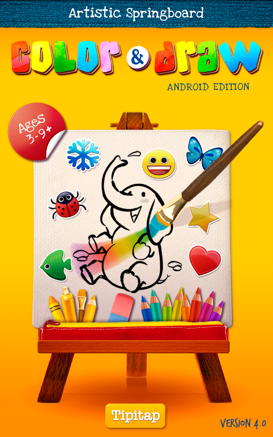 Color & Draw for kids- screenshot