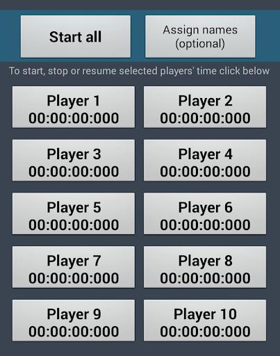 Multiple timer for sports