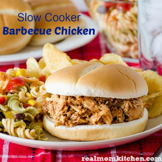 Slow Cooker Barbecue Chicken.