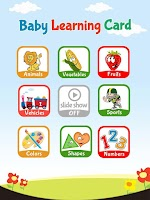 Screenshot of Baby Learning Card