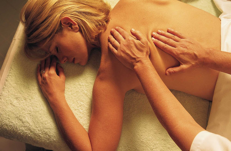 Indulge in a soothing massage in the famed Canyon Ranch SpaClub aboard Seven Seas Navigator.