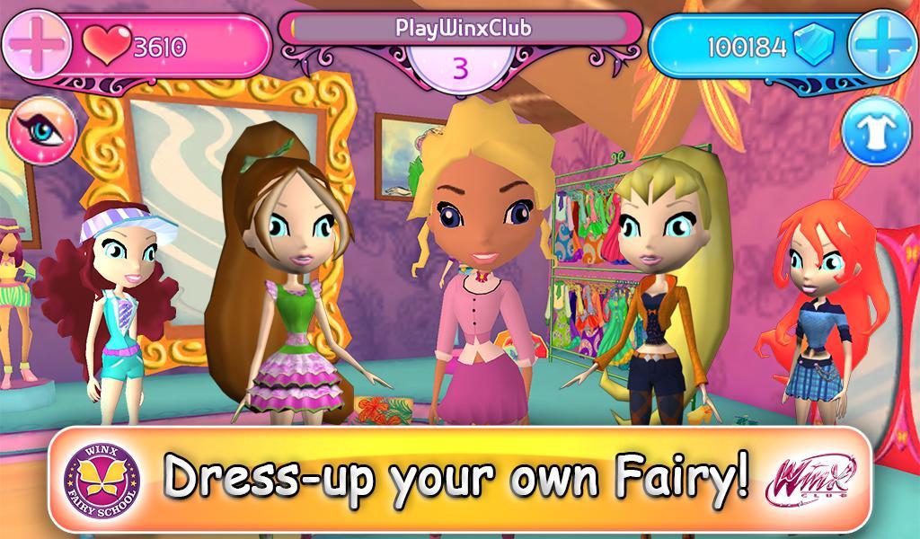 Winx Fairy School Lite screenshot 2
