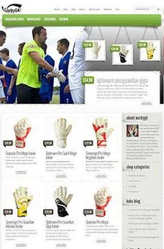 WarbyGK Goalkeeper Gloves