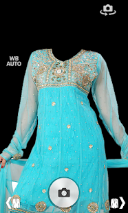 Women's Salwar Photo Montage screenshot