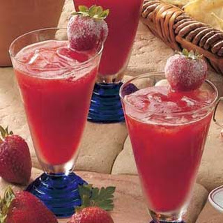 Summertime Strawberry Punch.