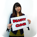 Beauty Clock Live Wallpaper icon
