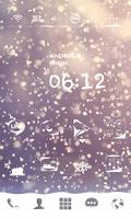 Screenshot of Snow Blossom Dodol Theme