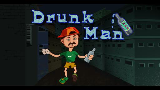 Drunk Man Runner - Balance
