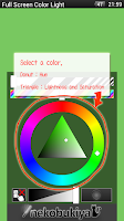 Screenshot of Full Screen Color Light