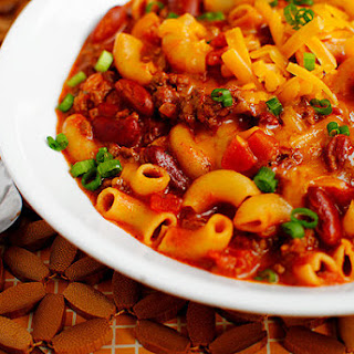 Skillet Chili Mac & Cheese.