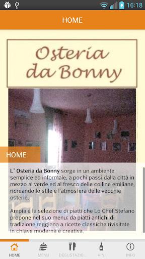 Osteria da Bonny