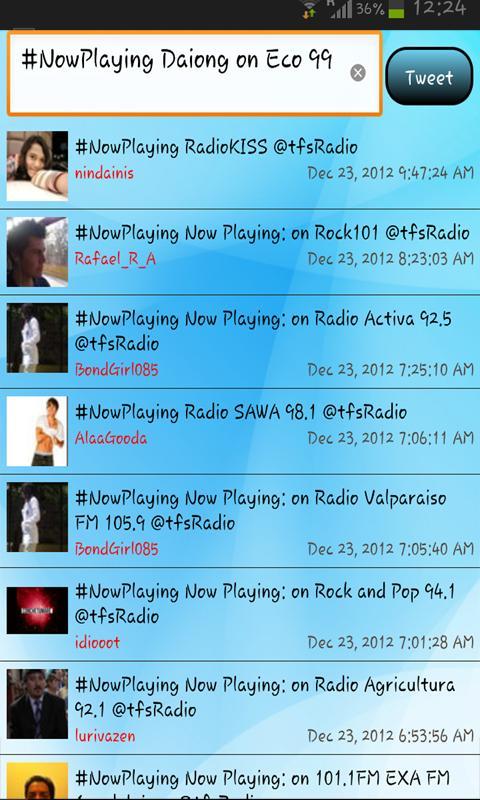 tfsRadio Slovakia Rádio - screenshot