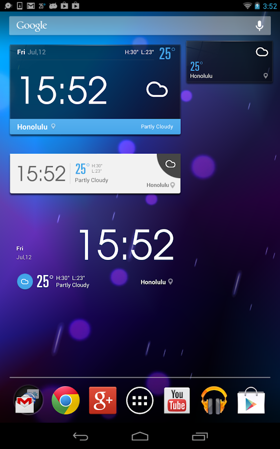 EZ Meteo widget di previsione - screenshot