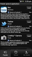 Screenshot of Games & apps
