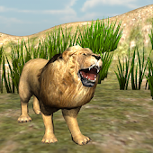 Angry Lion ROAR Animal King 3D