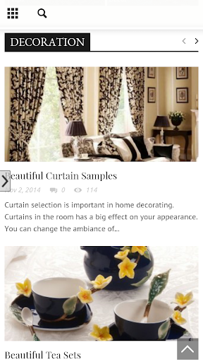 Home Decoration Furniture