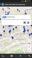 Screenshot of London Oyster Contactless