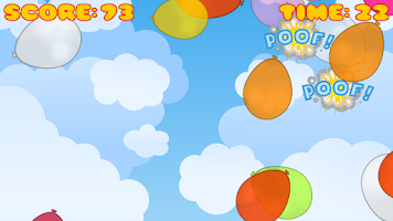 Screenshot of Pop Balloons!