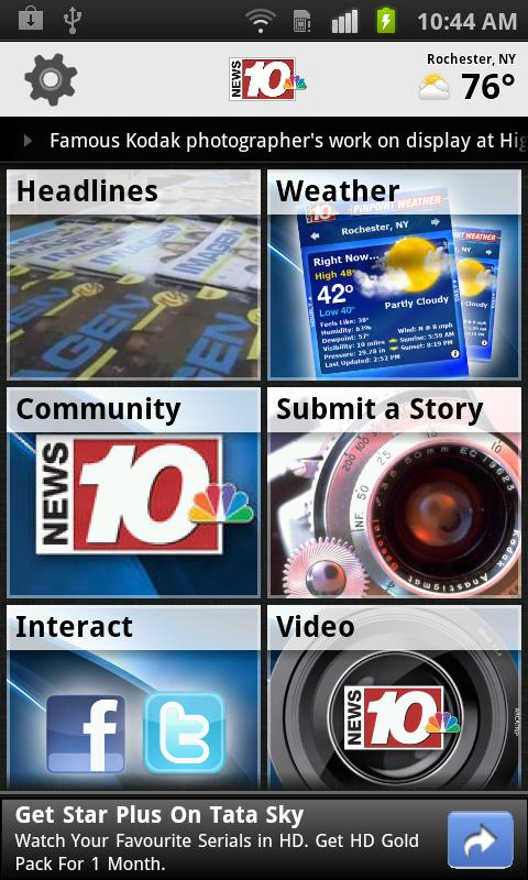 News 10 NBC WHEC - screenshot