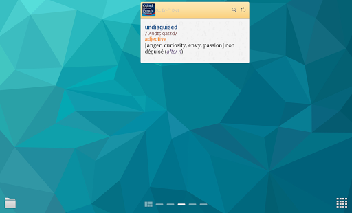 Oxford French Dictionary - screenshot thumbnail