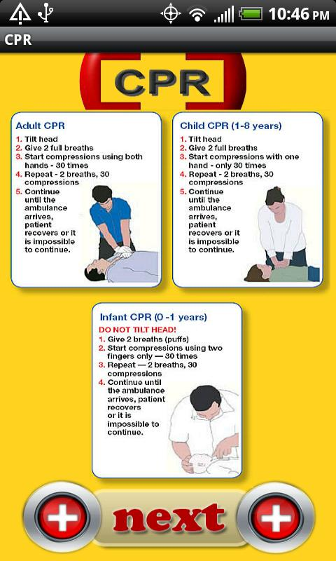 CPR Quick Guide - screenshot
