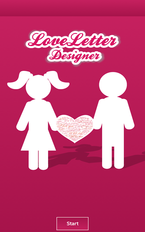 ♥ LoveLetter Designer  ♥ - screenshot