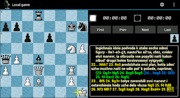Screenshot of Chess ChessOK Playing Zone PGN