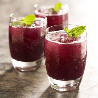 Grape-Pineapple Mint Fizz.