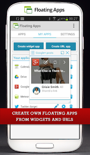 Floating Apps (multitasking) - screenshot thumbnail